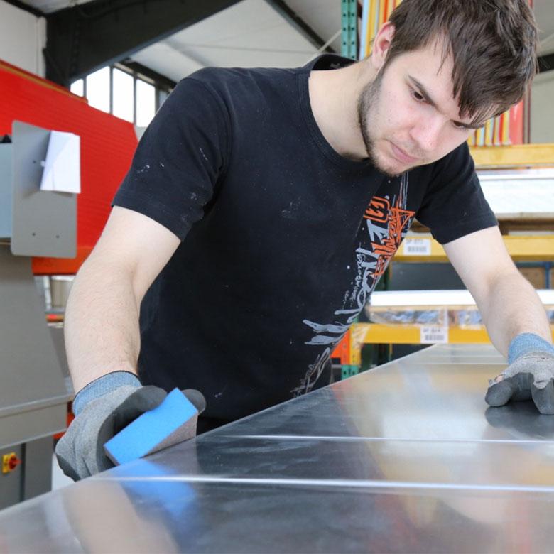 Haustür herstellen Handwerk Metallbau